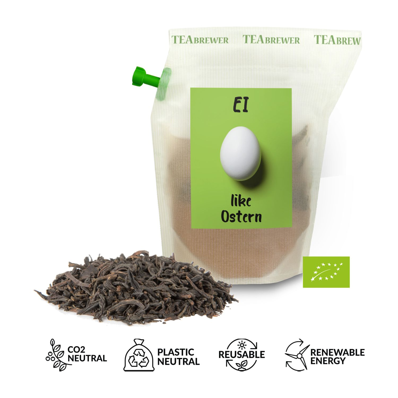 Geschenkartikel / Präsentartikel: Bio-Oster-Tee Earl Grey - Ei like Ostern