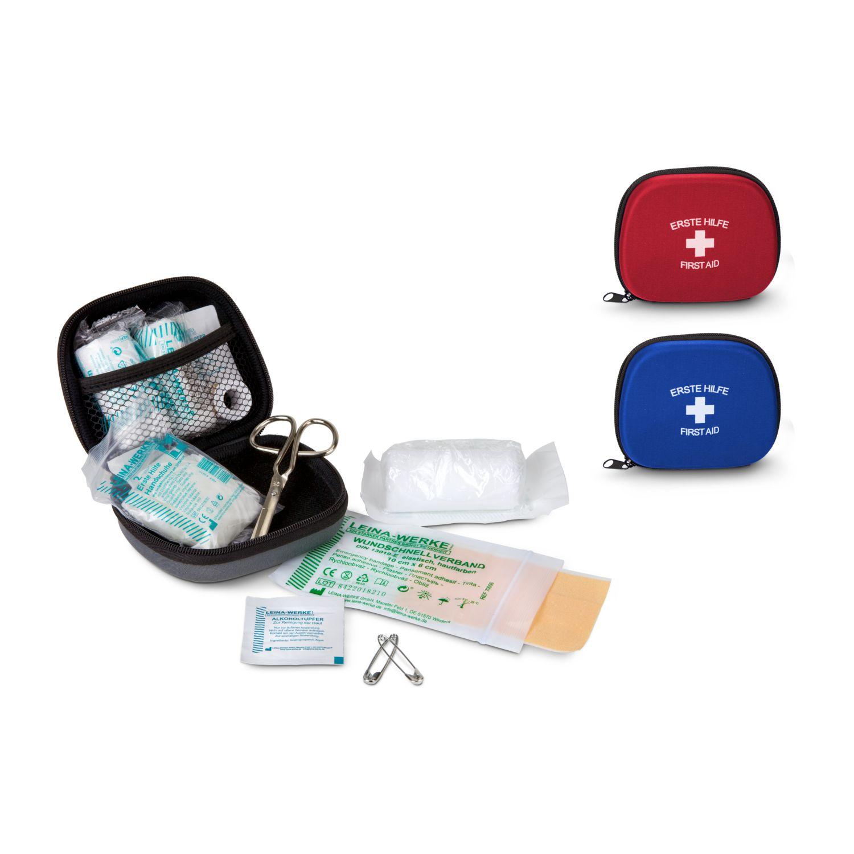 First Aid Kit - Erste Hilfe Set, 12-teilig, deutsche Markenware