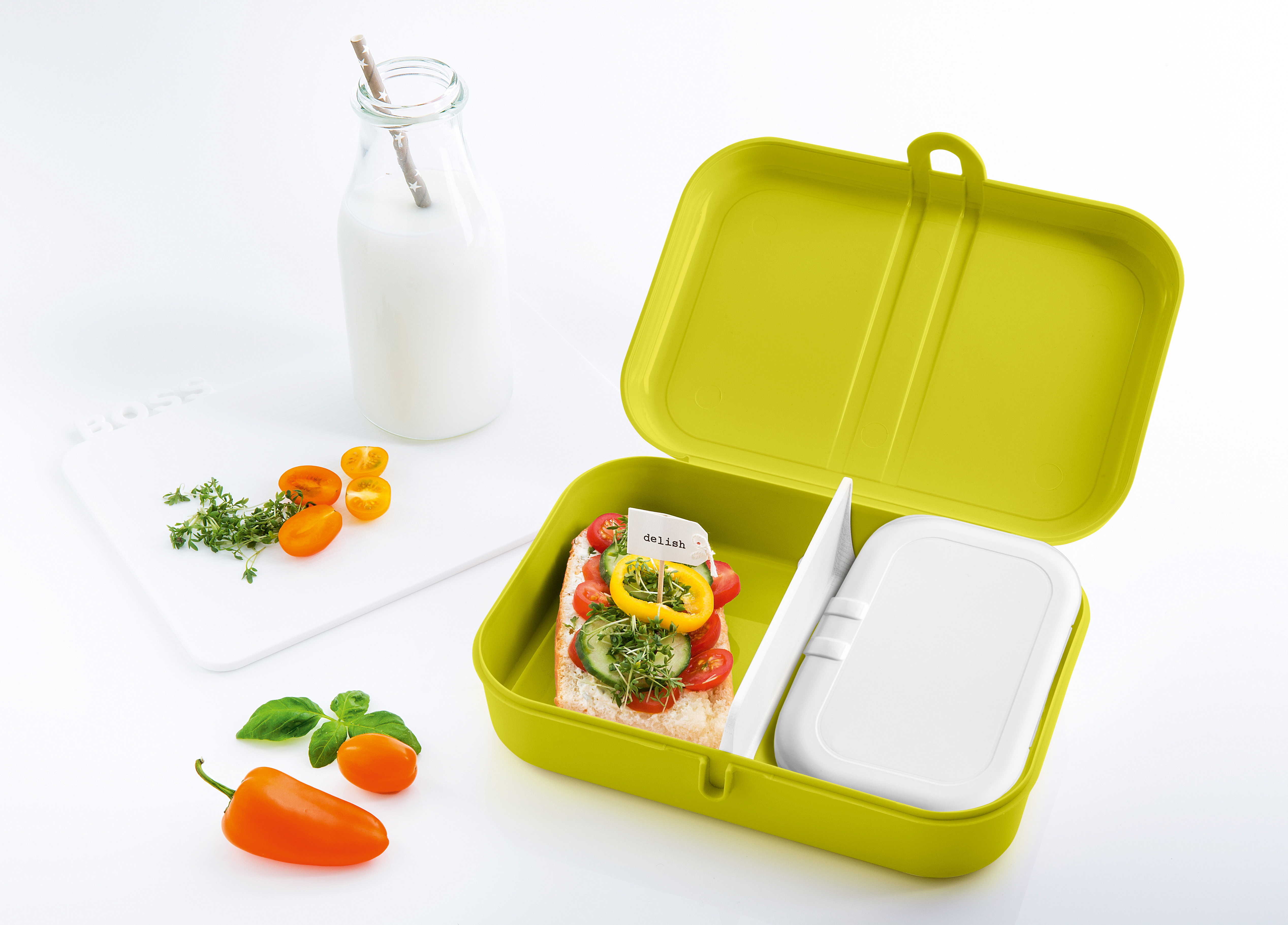 PASCAL   Trennsteg für Lunchbox - Pantone-Farbe: white