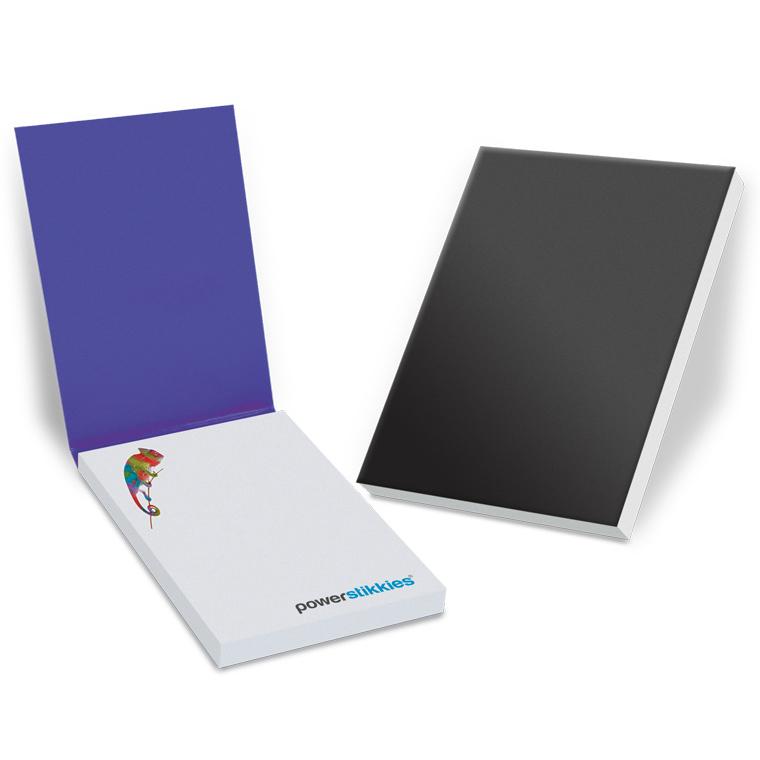 Haftnotizen im Kartonumschlag 100 x 137 mm, 100 Blatt