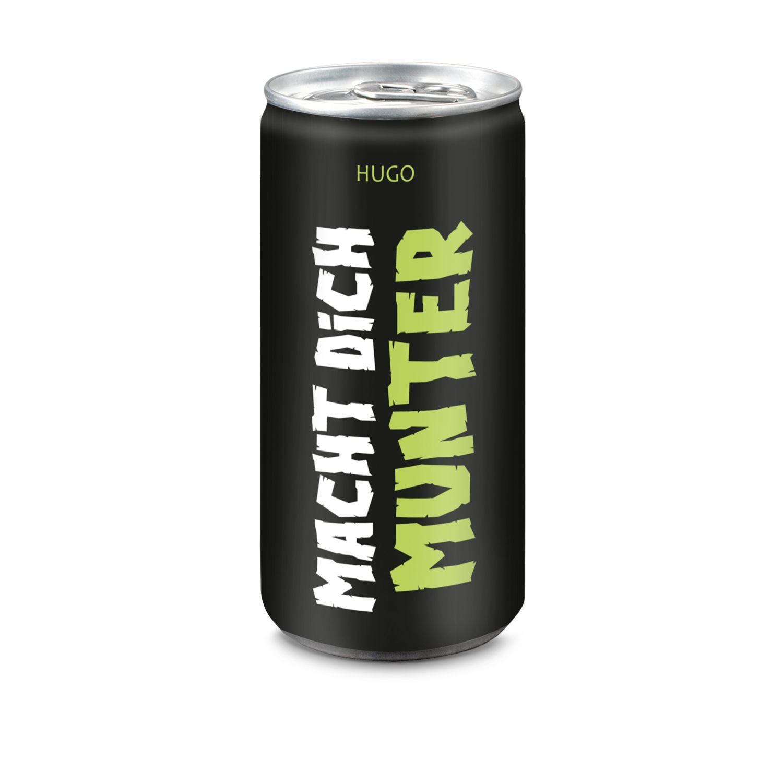 24x Hugo Macht Dich Munter, 200 ml