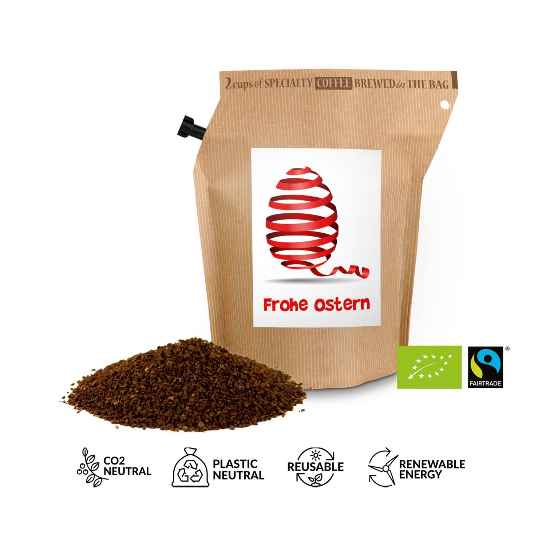 Geschenkartikel / Präsentartikel: Bio-Oster-Kaffee - Osterei