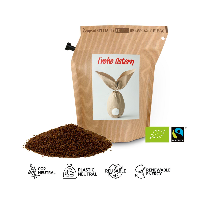 Geschenkartikel / Präsentartikel: Bio-Oster-Kaffee - Hase