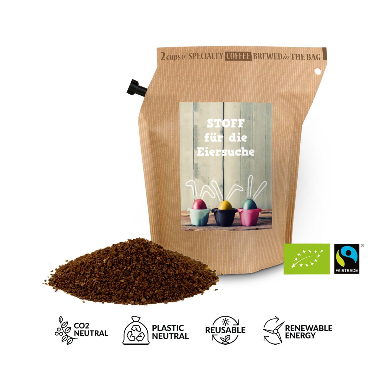 Geschenkartikel / Präsentartikel: Bio-Oster-Kaffee - Eiersuche