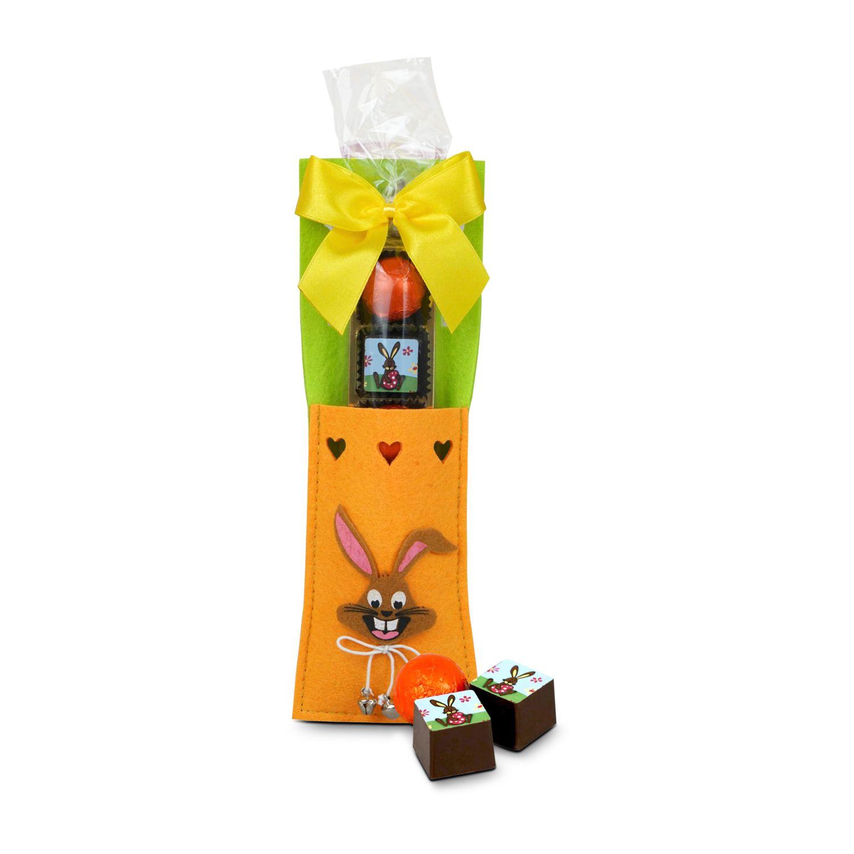 Geschenkartikel / Präsentartikel: Bestecktasche Hase
